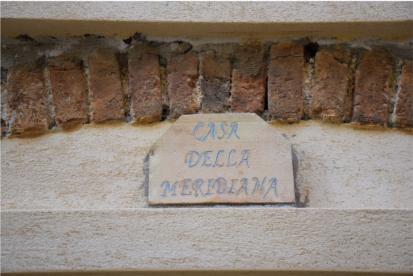 Casa della meridiana detail
