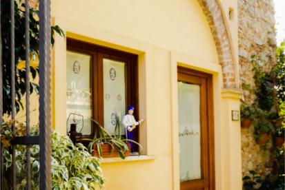 Il portico ingresso - Case vacanza Roccella Jonica